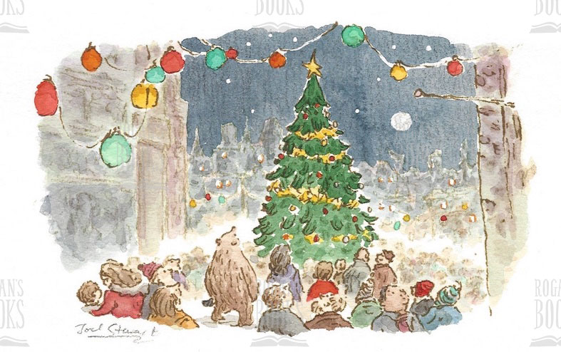 Christmas Illustrations.Joel Stewart Addis And The Christmas Tree